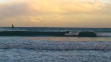 Гавайские волны в Медано